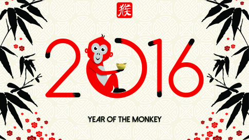 Year of the Monkey and Microbiome