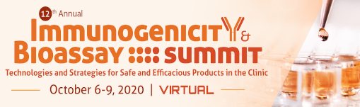12th Annual Immunogenicity &  Bioassay Summit | Virtual