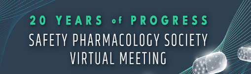 2020 Safety Pharmacology Society Annual Meeting  | Virtual