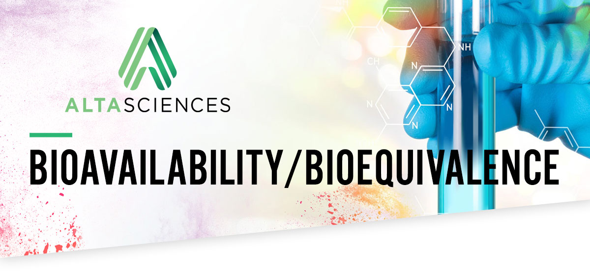 BIOAVAILABILITY/BIOEQUIVALENCE