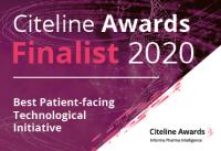 Citeline_awards_2020_finalist_ Best Patient-facing Technological Initiative