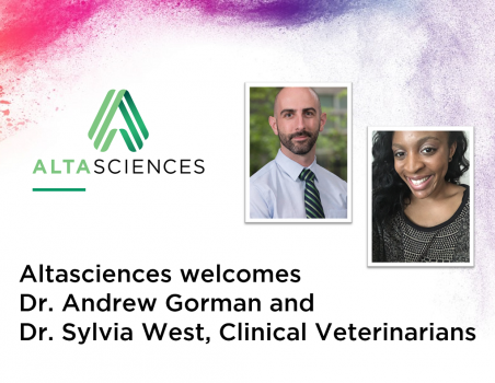 Altasciences Welcomes Two New Veterinarians to their Preclinical Team
