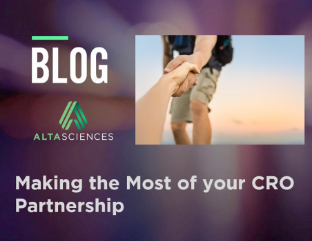 Feb 2020 Altasciences Blog - Making the Most of Your CRO Partnership
