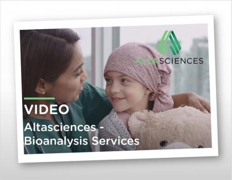 Video - Altasciences - Bioanalysis Services