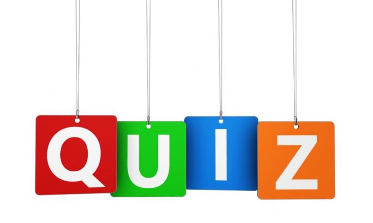 Because who Doesn't Love a Quiz!