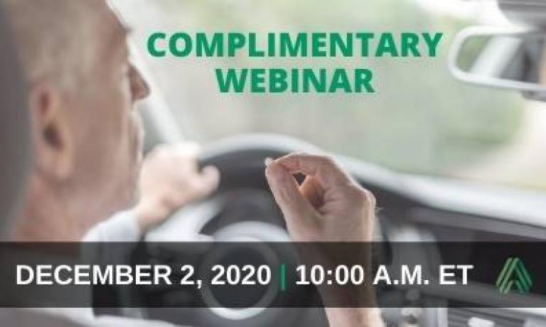 Complimentary Webinar — Assessing Cognition and Driving Ability in Clinical Pharmacology Studies
