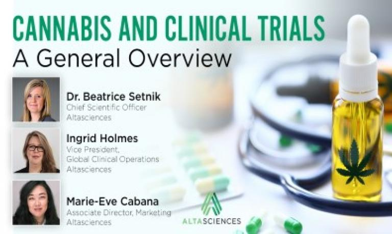 Cannabis and Clinical Trials Overview with Dr. Beatrice Setnik and Ingrid Holmes