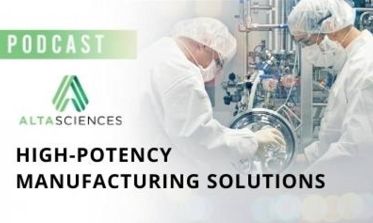 Altasciences' High-Potency Manufacturing Solutions