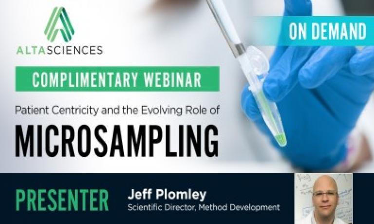 Patient Centricity and the Evolving Role of Microsampling
