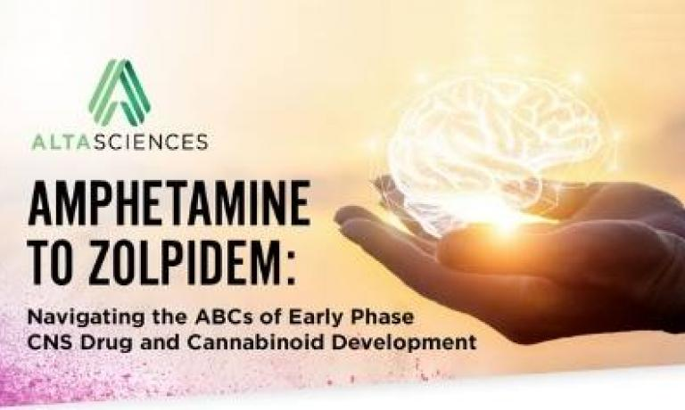 Amphetamine to Zolpidem:  Navigating the ABCs of Early Phase CNS Drug and Cannabinoid Development