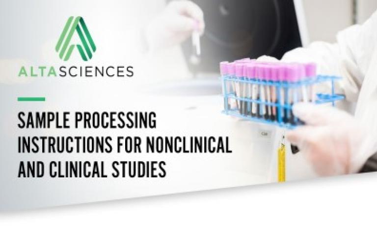 Critical Sample Handling Processes for Preclinical and Clinical Studies