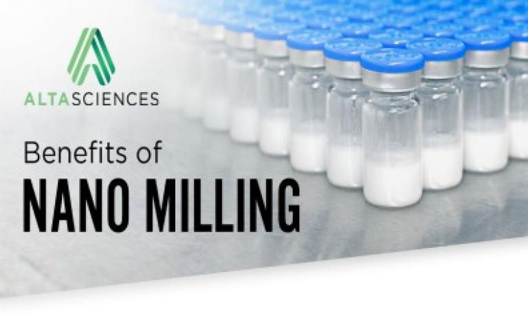 Benefits of Nano Milling