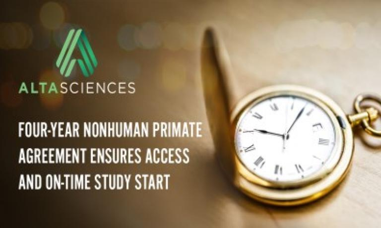 NHP Supply and Study Start Assurance