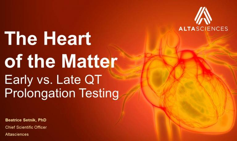 The Heart of the Matter - Early vs. Late QT Prolongation Testing
