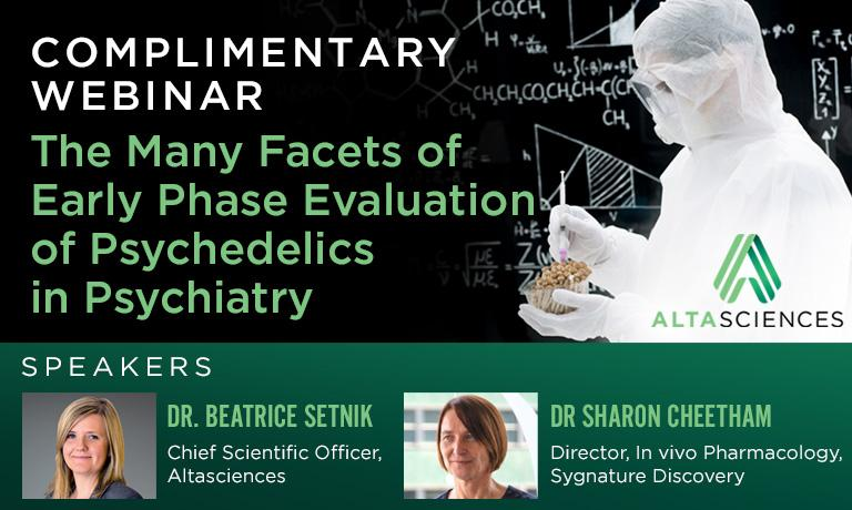 WEBINAR - The Many Facets of Early Phase Evaluation of Psychedelics in Psychiatry — A Roadmap to Studying Safety, Abuse Potential, and Efficacy