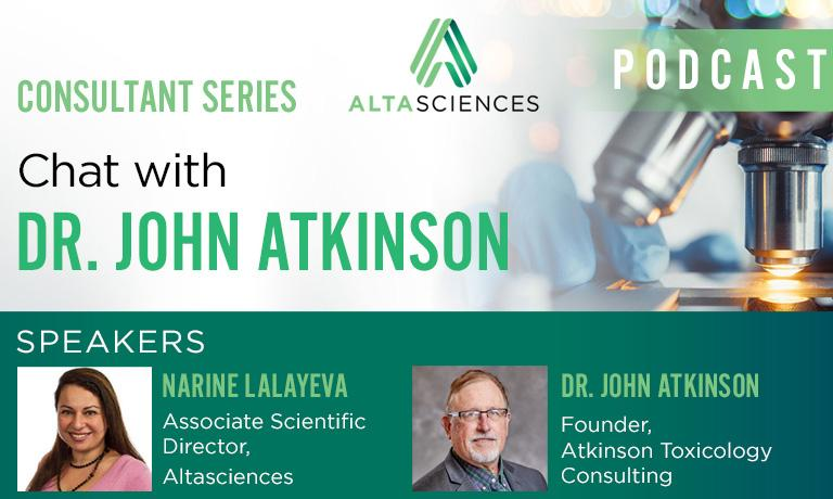 Consultant Series ―  Chat with Dr. John Atkinson, Founder of Atkinson Toxicology Consulting