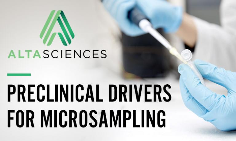 The Power of Microsampling in Preclinical Research