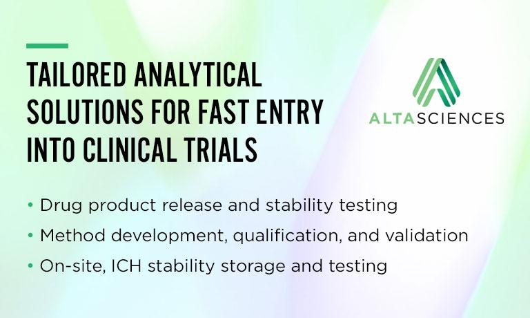 Tailored Analytical Solutions for Fast Entry into Clinical Trials