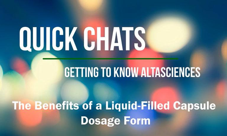 Which Dosage Form Gets Your Drug to Market Faster?