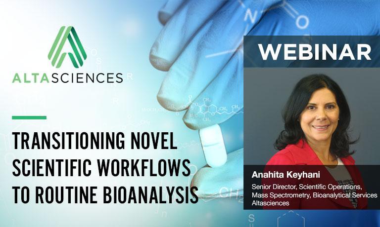 Transitioning Novel Scientific Workflows to Routine Bioanalysis